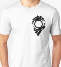 Ghost in the Shell - Public Security Section 9 Logo (Black Logo) T-Shirt