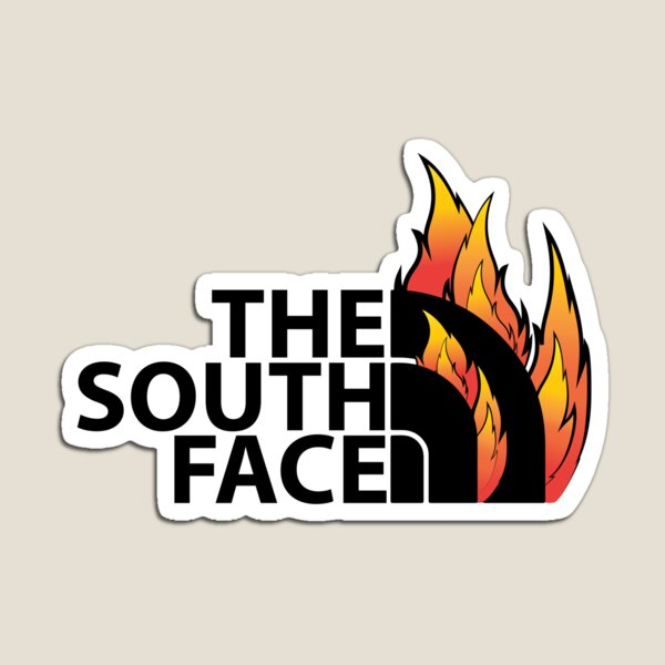 The South Face_black Magnet