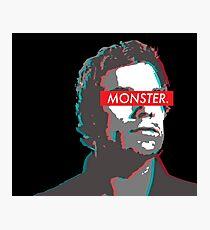 Dexter: MONSTER 3D  Photographic Print