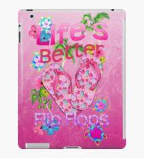 Das Leben ist besser in Flip-Flops iPad-Hülle & Klebefolie
