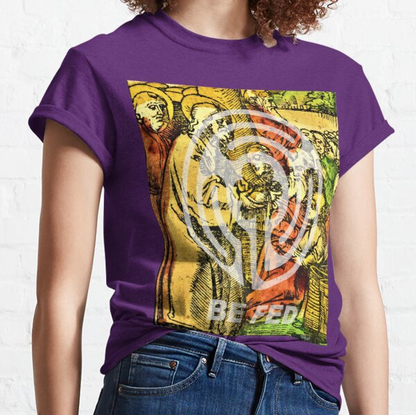 Be Fed Spiritually (Religious Art) Classic T-Shirt