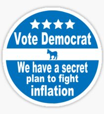 Vote Democrat... Sticker