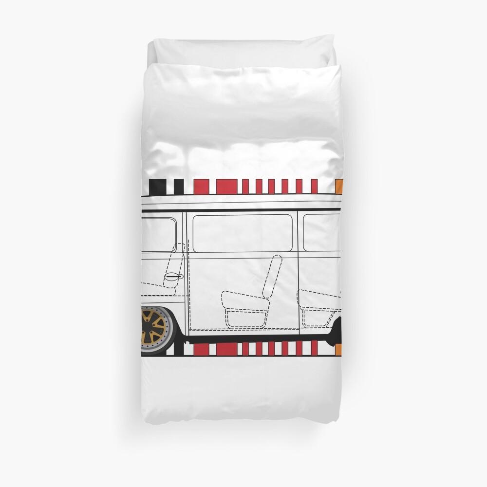 aircooled bus Duvet Cover