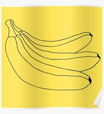The Simple Banana Poster