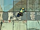 Window washer's world by awefaul