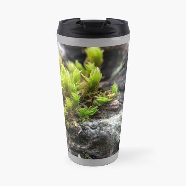 Spiky green moss Travel Mug
