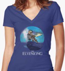 The Elvenking Women's Fitted V-Neck T-Shirt