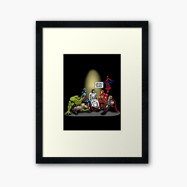 And That's How I Saved The World Jesus Gifts For Fans, For Men and Women, Gift Christmas Day Framed Art Print