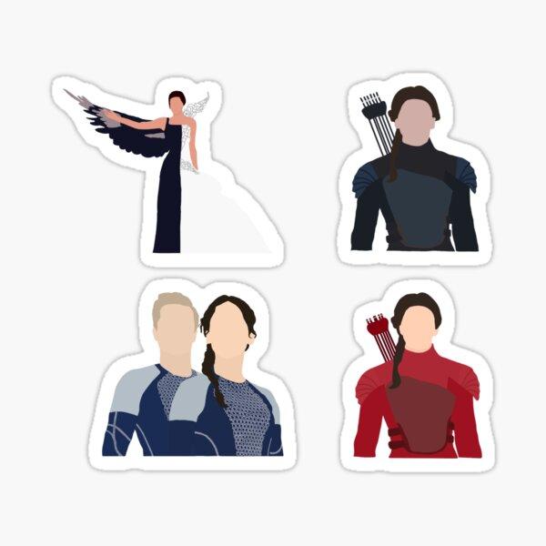 The Hunger Games Katniss Everdeen Sticker Pack Sticker