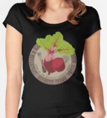 The Office: Schrute Farms Women's Fitted Scoop T-Shirt