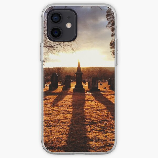 Cemetery Chess iPhone Soft Case