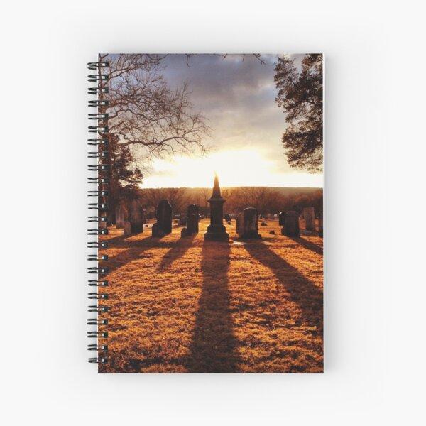 Cemetery Chess Spiral Notebook