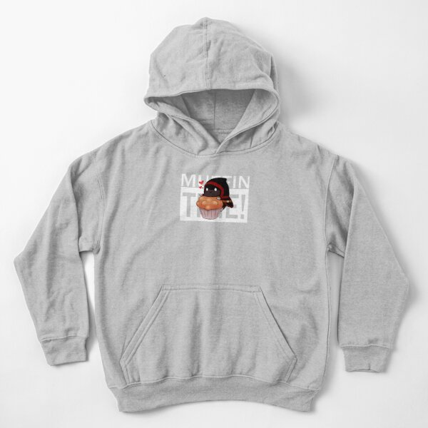 Badboyhalo Merch Badboyhalo Muffin Time Gifts For Fans, For Men and Women, Gift Christmas Day Kids Pullover Hoodie