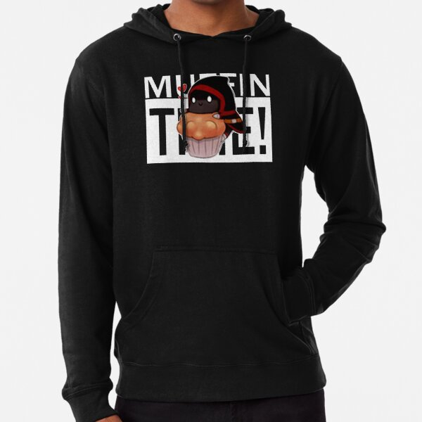 Badboyhalo Merch Badboyhalo Muffin Time Gifts For Fans, For Men and Women, Gift Christmas Day Lightweight Hoodie