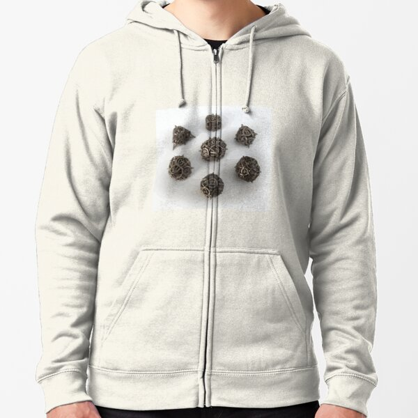 Dices! Zipped Hoodie