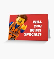 Will You Be My Special? Greeting Card