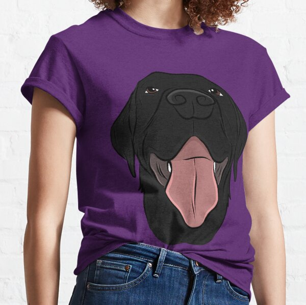 Happy Black Lab Classic T-Shirt