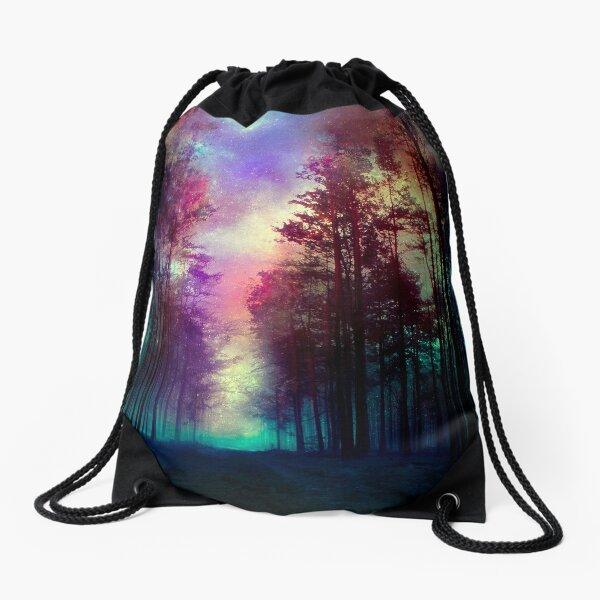Magical Forest Drawstring Bag