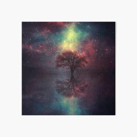 Magic Tree Art Board Print