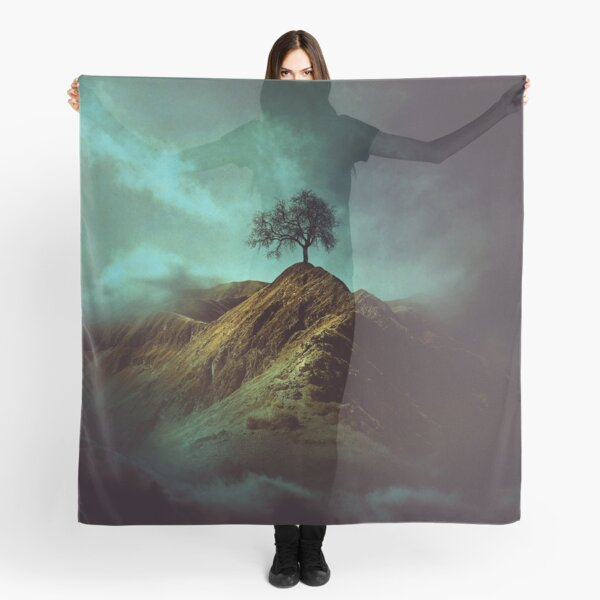 Lonely tree Scarf