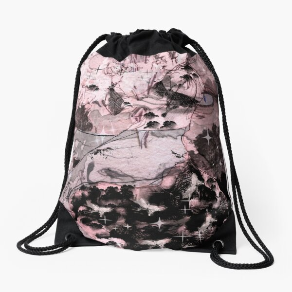 Fairy Fantasy Illustration Character Aesthetic Art Bishounen Drawstring Bag