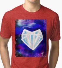 Hearts or Diamonds, I'll Take Diamonds Tri-blend T-Shirt
