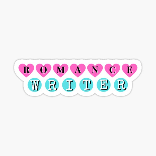 Romance Writer Sticker