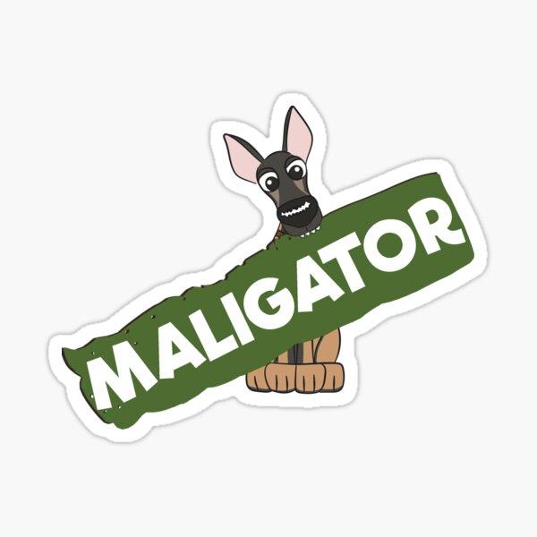 Sign of a Maligator Sticker
