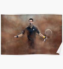 Novak Celebration Poster
