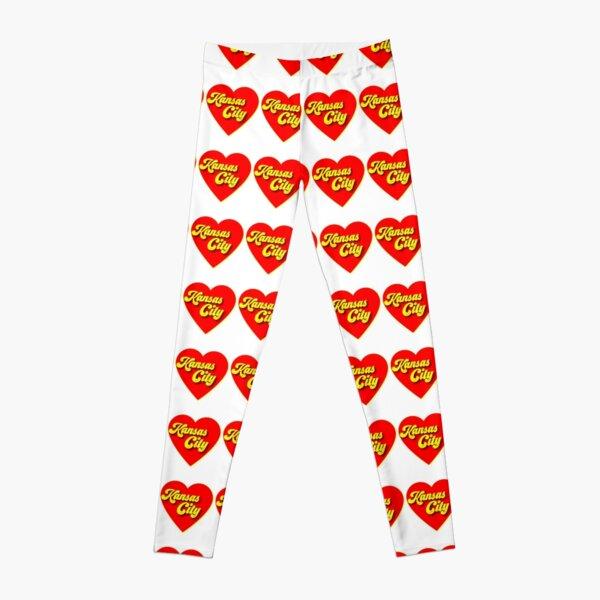 Kansas City Love Design Leggings