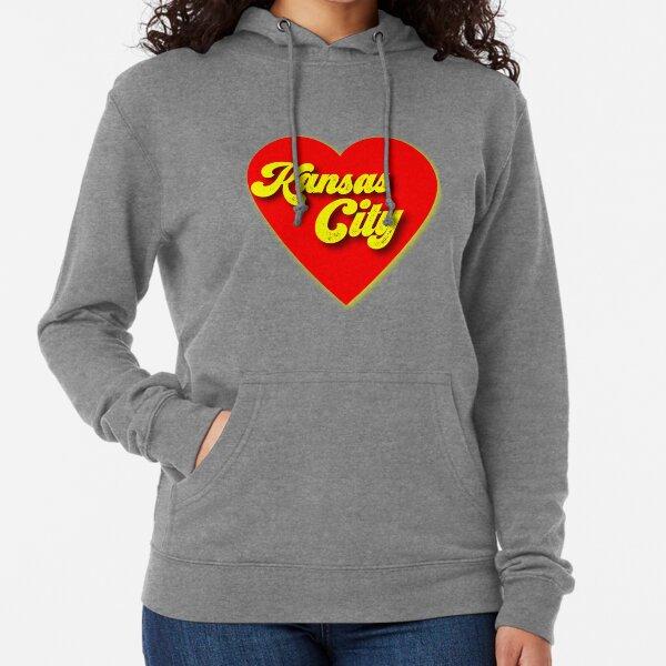Kansas City Love Design Lightweight Hoodie