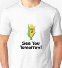 Corn See Tomorrow Slim Fit T-Shirt