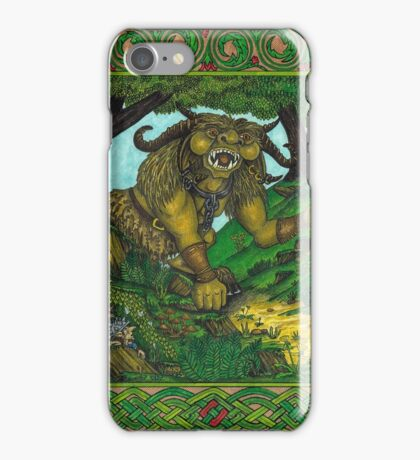 A Gaggle of Goblins, Coloured iPhone Case/Skin