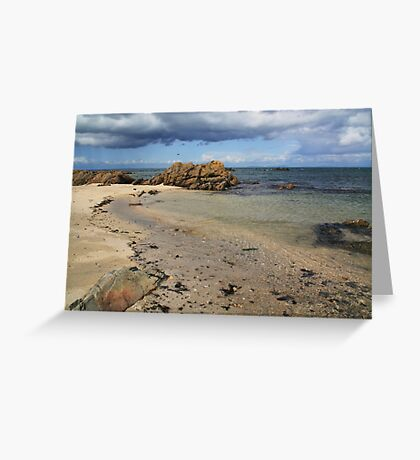 Seascape at Skerries Greeting Card