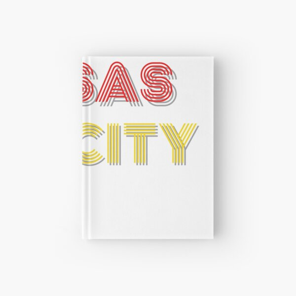 Kansas City Throwack Design Hardcover Journal