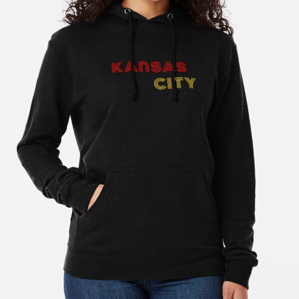 Kansas City Throwack Design Lightweight Hoodie