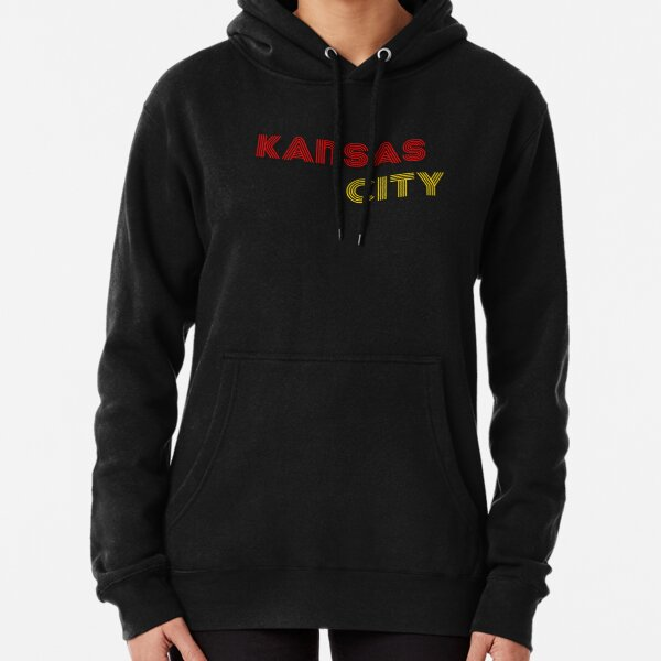Kansas City Throwack Design Pullover Hoodie