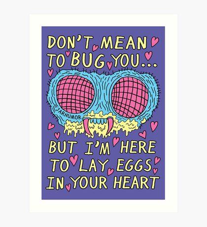 Bug Love Lámina artística