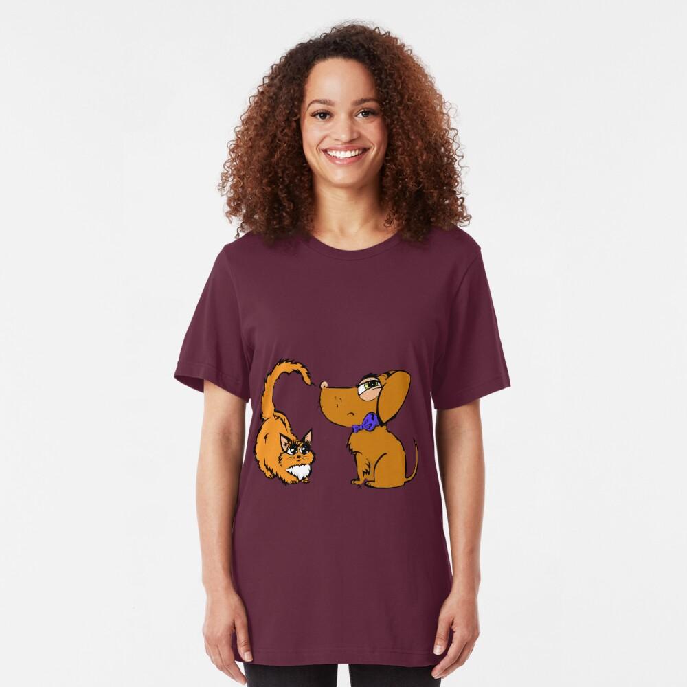 Hello! Slim Fit T-Shirt