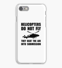 Helicopter Submission iPhone Case/Skin