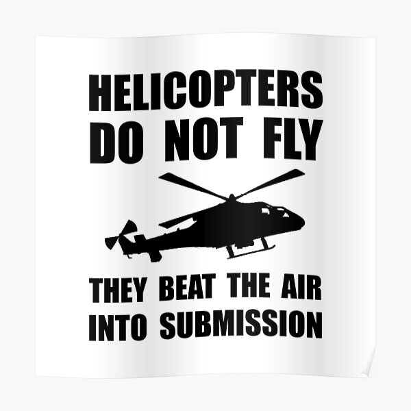 """Helicopter Submission"""" Poster by TheBestStore 