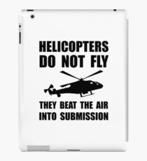 Helicopter Submission iPad Case/Skin