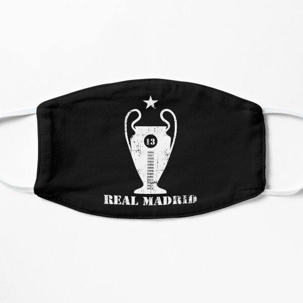 Liga de Campeones del Real Madrid Mascarilla plana