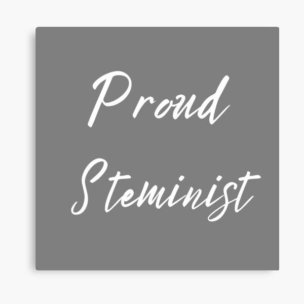 Proud Steminist Canvas Print