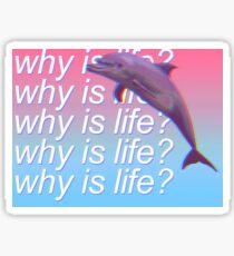 Warum ist das Leben? - TO MALL Album - Joycartel Sticker