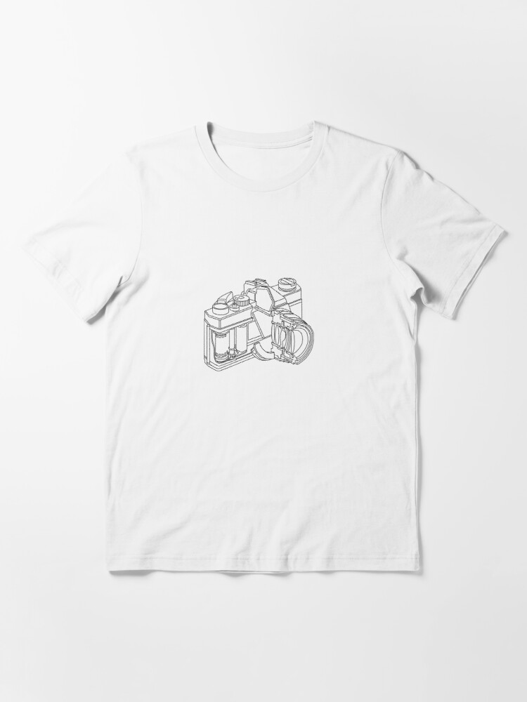 Alternate view of Camera disection  Essential T-Shirt