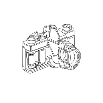 Camera disection  by columbus16
