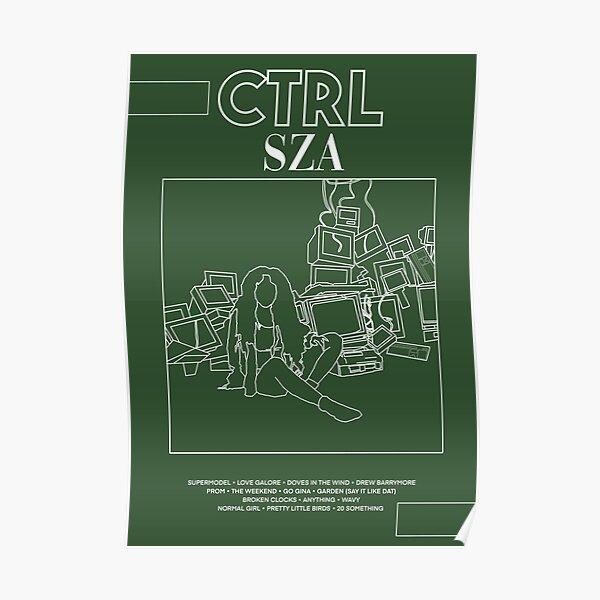CTRL - SZA Poster