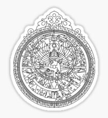 Astrolabe Sticker