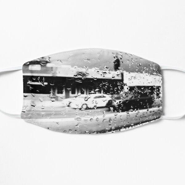 Water Drops on Glass Flat Mask